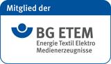 Mitglied der BG Energie Textil Elektro Medienerzeugnisse